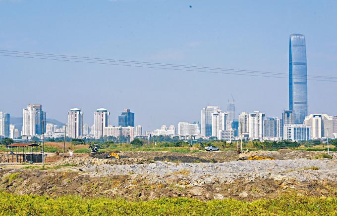 新田一帶有四十五公頃用地可供發展住宅。