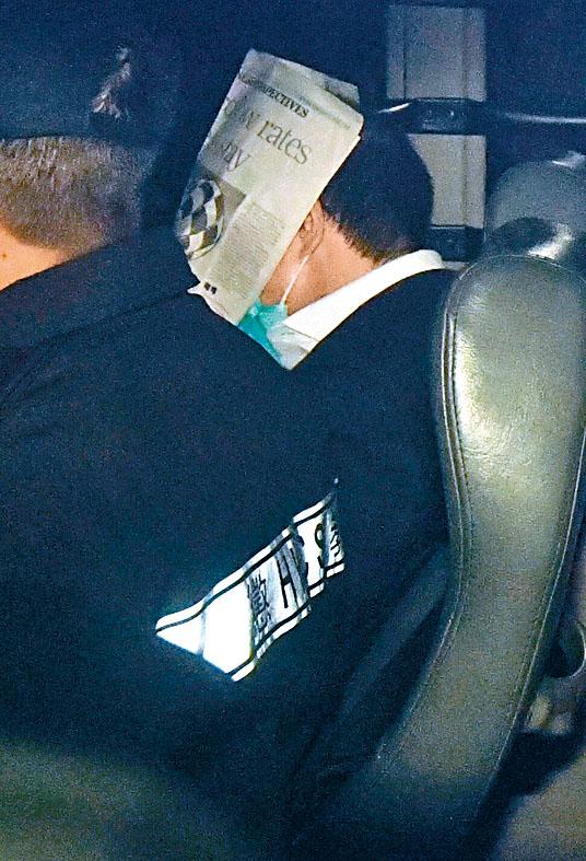 張祺忠被裁定謀殺罪名成立,由囚車押走。