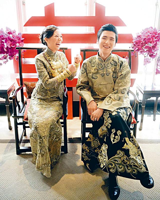 圓圓與蔡加讚結婚7年,歎日子過得特別快。