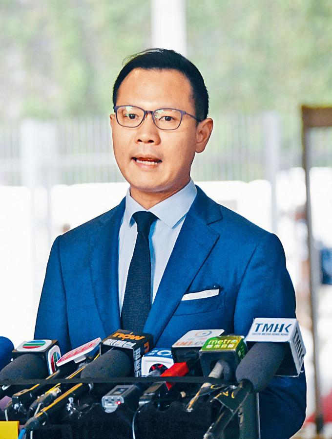 郭榮鏗對於曾去信美國尋求制裁香港,形容為「人生如棋,落子無悔」。