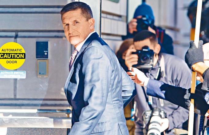 前白宮國家安全顧問弗林。