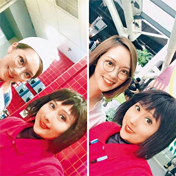 馮盈盈曾客串《愛·回家》,與劉素芳合作。
