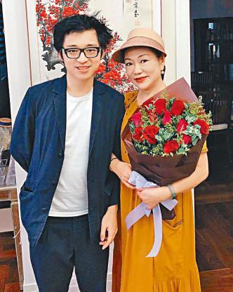 林作在社交網站媒體聲稱,母親為「跳舞群組」一員。