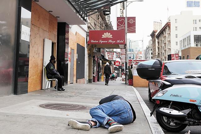 三藩市等地方政府有意結束以酒店安置無家者避疫的計劃。美聯社