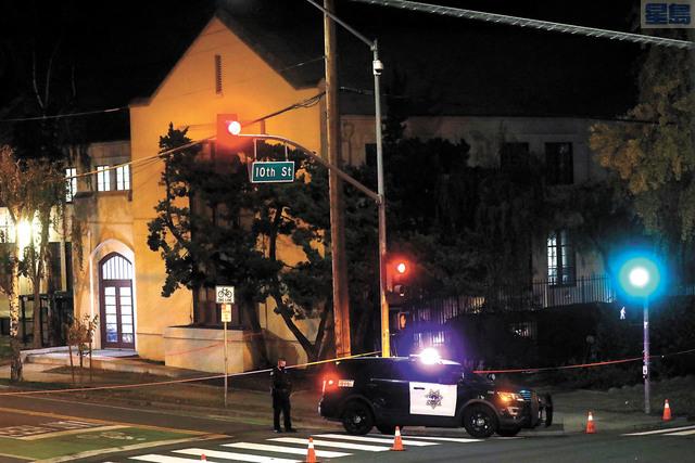 聖荷西教堂兇案嫌犯過去犯案累累。美聯社