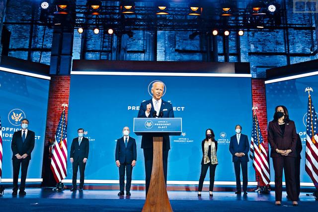 ■拜登24日宣布其外交與國安團隊提名人選。從名單中可以看出,拜登有意讓美國回到特朗普執政前的模樣。美聯社
