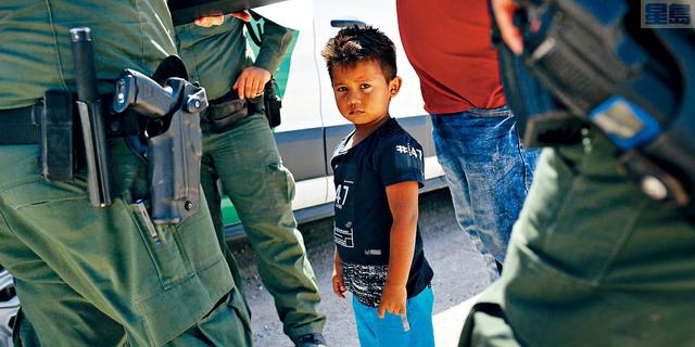 ■據報,在18日至23日之間,美國海關與邊境保護局逮捕了將近1000名偷渡兒童。  資料圖片