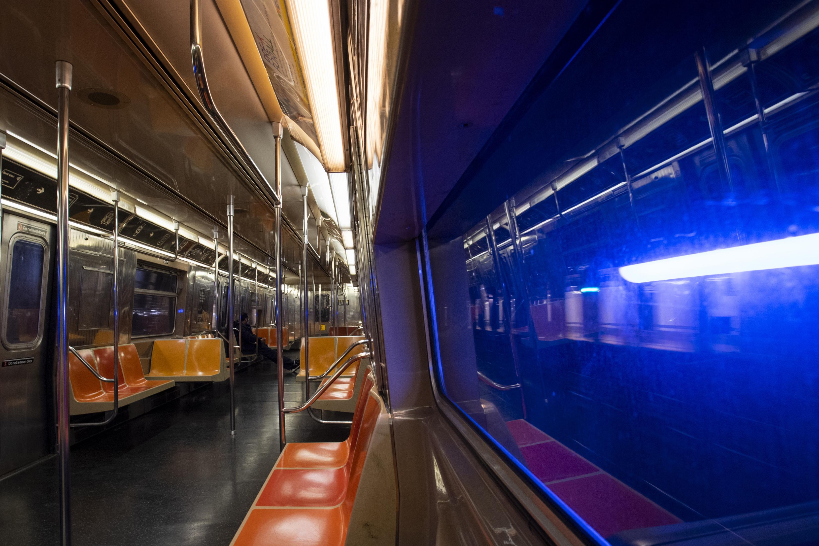 ■疫情下地鐵乘車人數大跌,令MTA陷入重大財赤。 Gregg Vigliotti/紐約時報