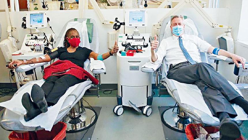 白思豪號召民眾積極捐血。