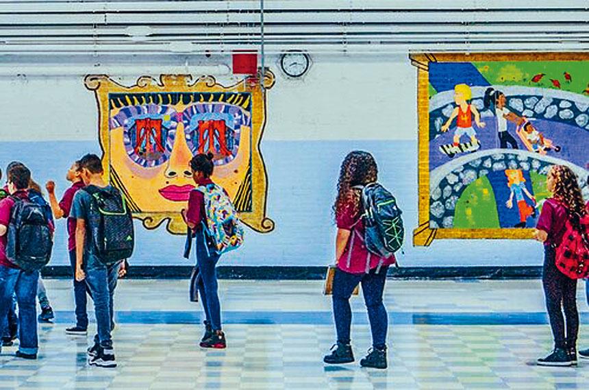 紐約同源會及PLACE NYC昨日對紐約市進行的中學高中招生改革表示批評。資料圖片