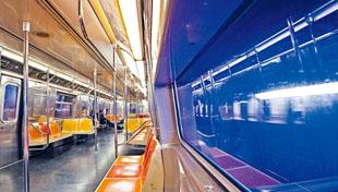 疫情下地鐵乘車人數大跌,令MTA陷入重大財赤。 Gregg Vigliotti/紐約時報