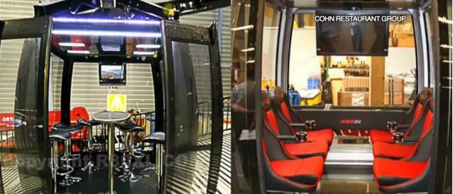 「巴博亞公園之星」將有36個獨立空調的包廂,每廂至多八人、每輪皆會進行消毒。Fox 5 San Diego