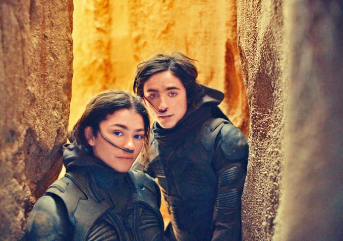 《沙丘瀚戰》等明年上映的17部華納影片,會同時在串流平台上架1個月。