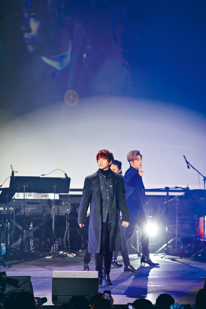 姜濤打入叱咤「我最喜愛的男歌手」五強,坦言沒有期望拿獎。