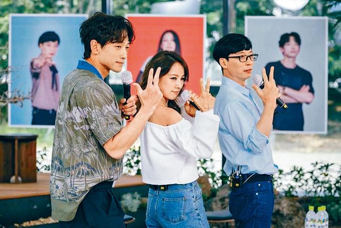 Rain與拍檔劉在石均入選今年韓國十大人物。