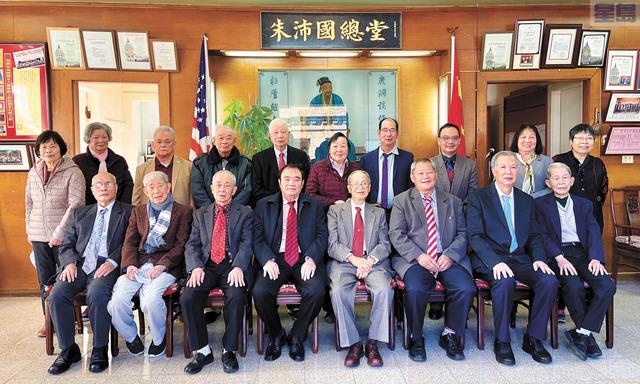 朱沛國總堂首長同仁期待在新的一年族務興旺,堂務昌隆。馬紅兵攝