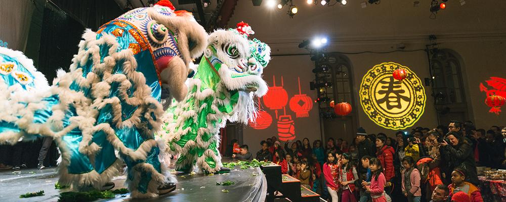 ■法拉盛市政廳文藝中心的廟會慶祝農曆新年,2月14日下午2點將以線上免費虛擬慶祝。
