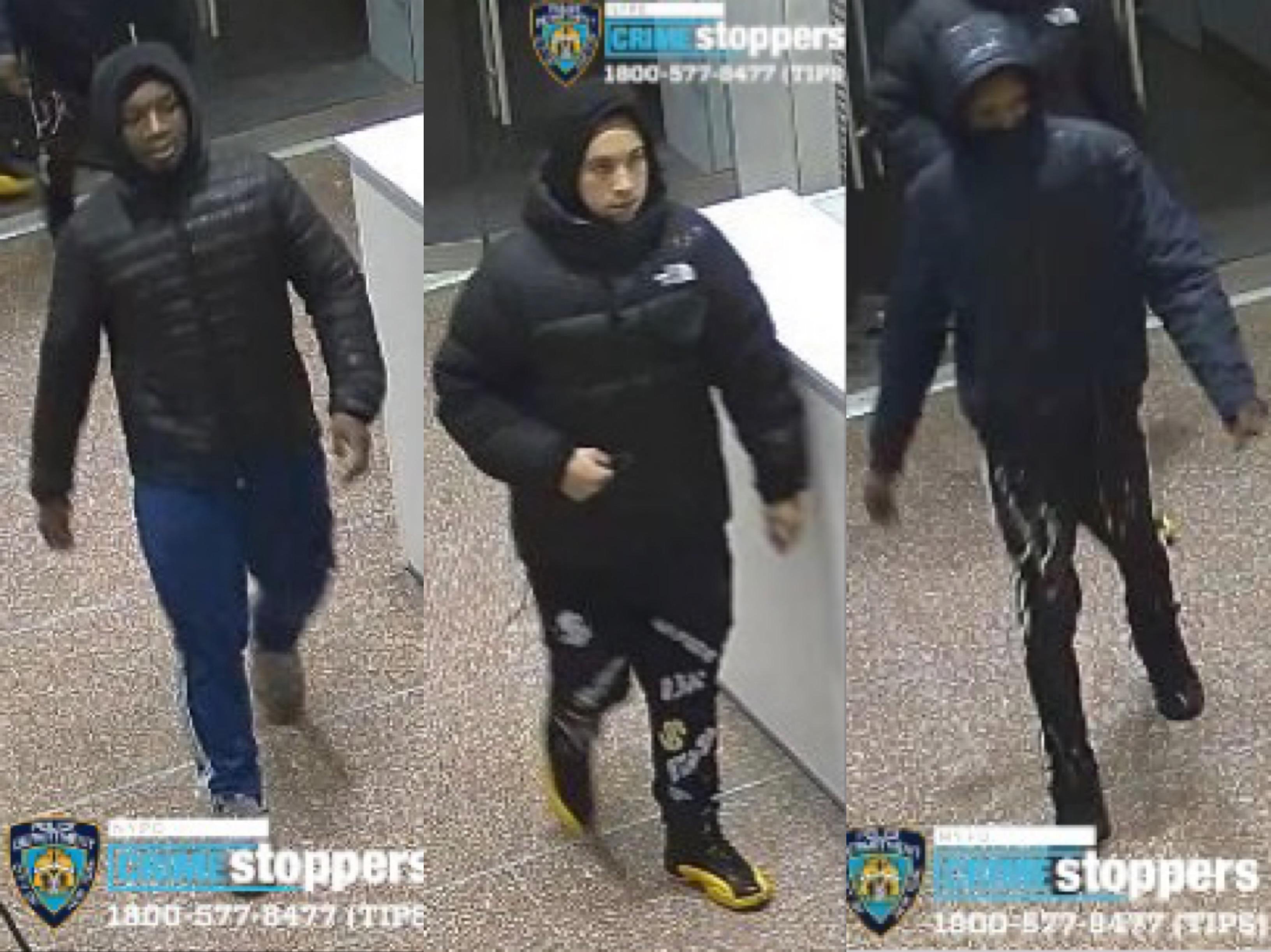 ■圖為涉案團伙。 NYPD