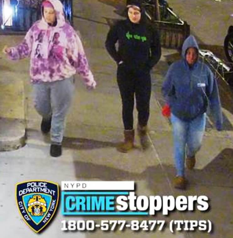 市警提供監控視頻所拍3人圖像。