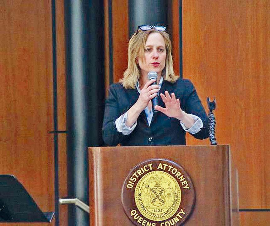 卡絲鼓勵人口販運的受害者積極求助。資料圖片
