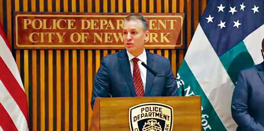 市警務處長謝伊周一確認,正在對一名涉嫌參與國會騷亂的警員展開調查。