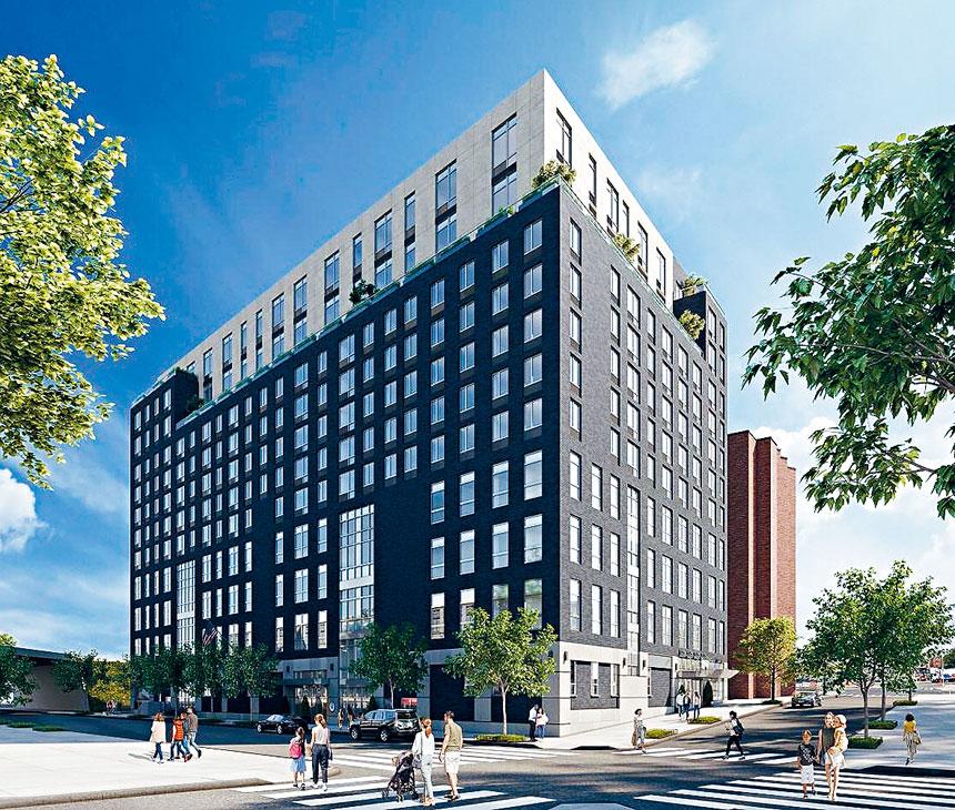 紐約市教育局與私人地產發展商合作,在皇后大道69-02號建造一所新學校。