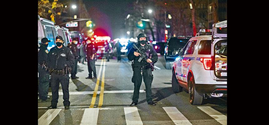 2021年首10天內,紐約市謀殺案激增了125%。Gregg Vigliotti/紐約時報