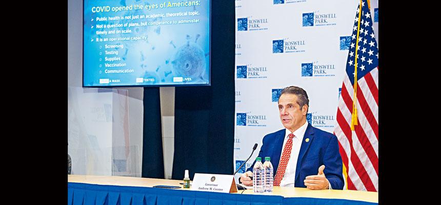 柯謨表示,將開放更多經濟活動和減少限制措施。州長辦公室Flickr圖片