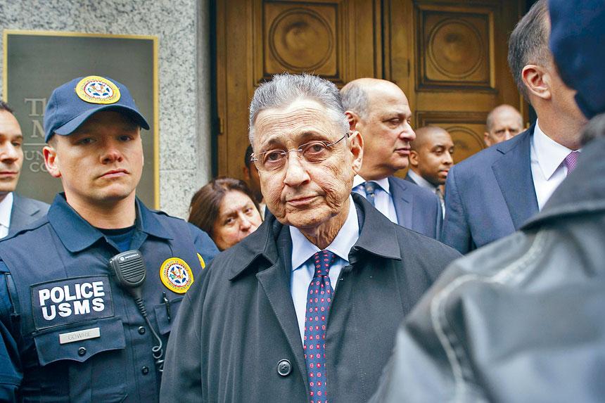 蕭華因涉及400萬元賄賂案而被判監6年半。Gregg Vigliotti/紐約時報