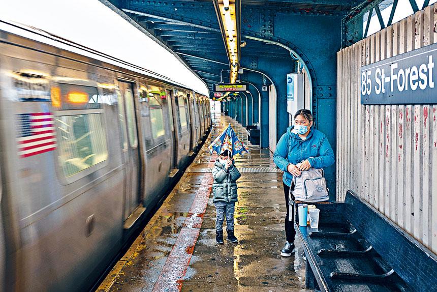 MTA表示,現時的財務狀況已非常脆弱。Jonah Markowitz/紐約時報