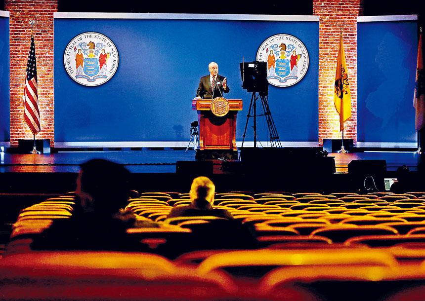 墨菲在演說中概述租戶支援等多項優先工作。州長辦公室Flickr圖片