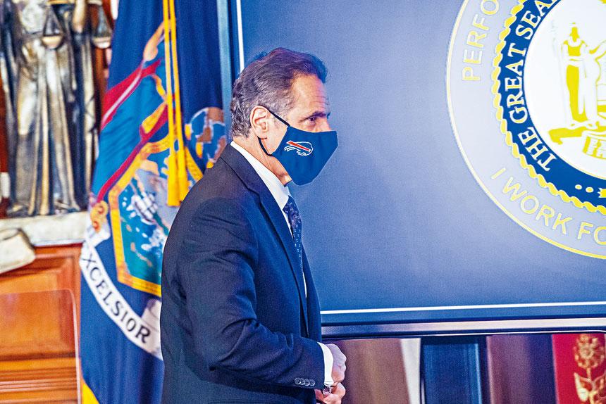柯謨辦公室表示,預計下周將獲25萬劑疫苗,但只夠使用3天。州長辦公室Flickr圖片