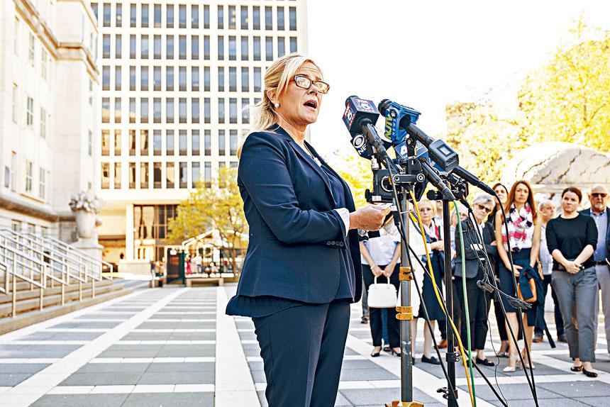 凱莉表示,不會害怕任何針對「關橋門」的質詢。Bryan Anselm/紐約時報