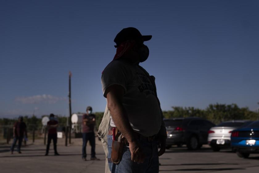 拉丁裔移民社區受到新冠疫情的嚴重衝擊。美聯社