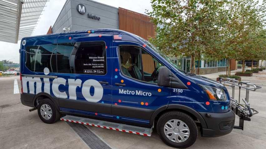 洛縣大都會交通局微型拼車計畫服務。Metro.Net
