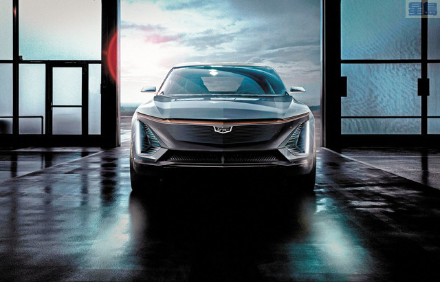 通用汽車在2021 CES消費電子展上發布多款新產品,獲投資者稱讚。法新社