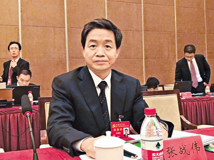 掌摑同僚的河南濟源書記張戰偉被免職。