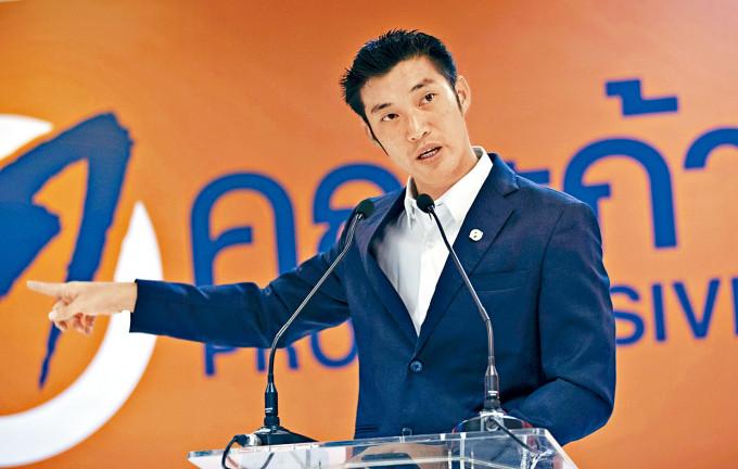 塔納通昨日開記者會。