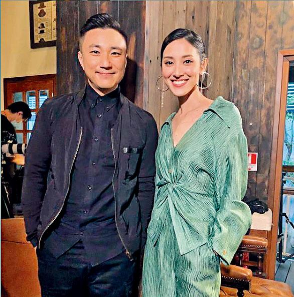 崔建邦預告將與陳凱琳拍檔新一輯節目。