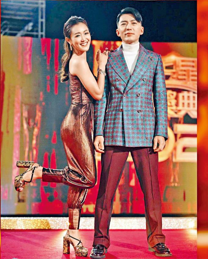袁偉豪雖然被網民批評,但幸有老婆呵番。