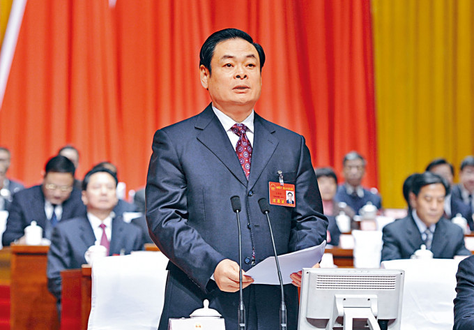 王儒林缺席近期多個官方活動。