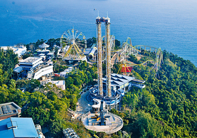 海洋公園山上部分機動遊戲將會拆卸,包括越礦飛車、瘋狂過山車及滑浪飛船等。