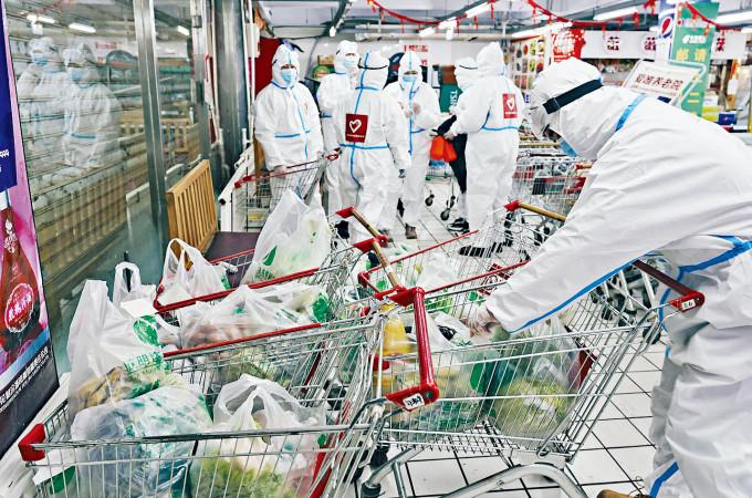 吉林通化被市民投訴之後,全力保障生活物資配送。