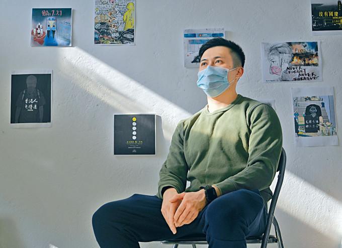 「醫管局員工陣線」副主席羅卓堯,相信工會未來可續發揮監察力量。