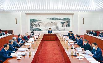 全國人大常委會委員長會議舉行,會議決定全國人大常委會第二十五次會議,於一月二十日至二十二日在北京舉行。