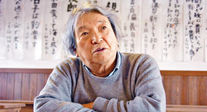 日本繪本大師安野光雅。
