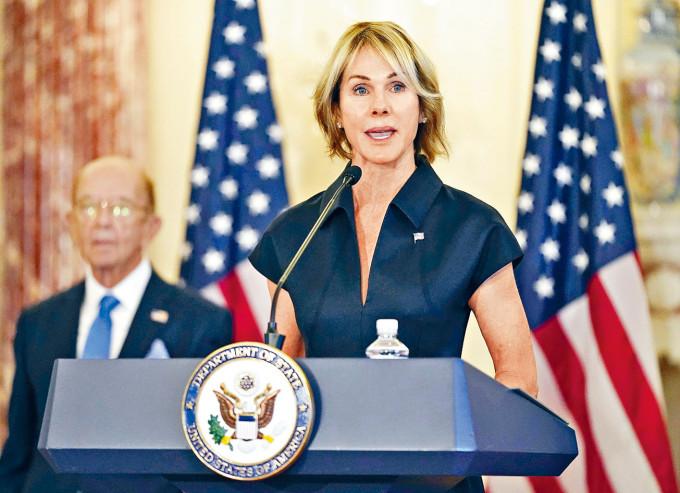 美國駐聯合國大使克拉夫特將訪台。