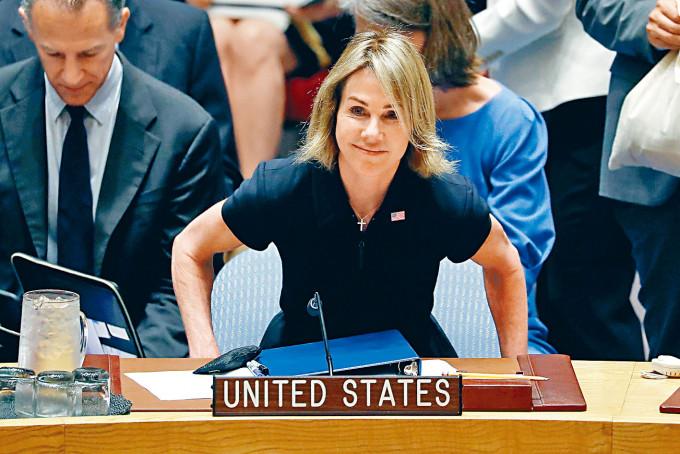 美國駐聯合國大使克拉夫特即將訪台。