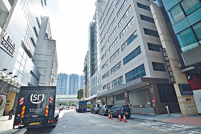 觀塘大偉工業大廈是首個工廈改建過渡性房屋項目。