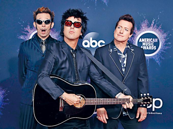 Green Day昨宣布取消3月舉行的香港巡唱。